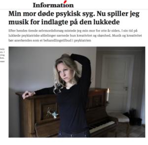 Maria Anna Rosenberg Dagbladet Information ME AND MARIIA